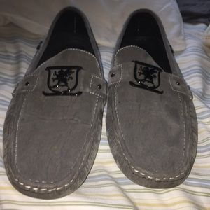 Stacy Adams grey loafers all grey size 12